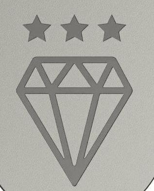 SS312 Diamond Standard logo for upvc door anti-snap locks.