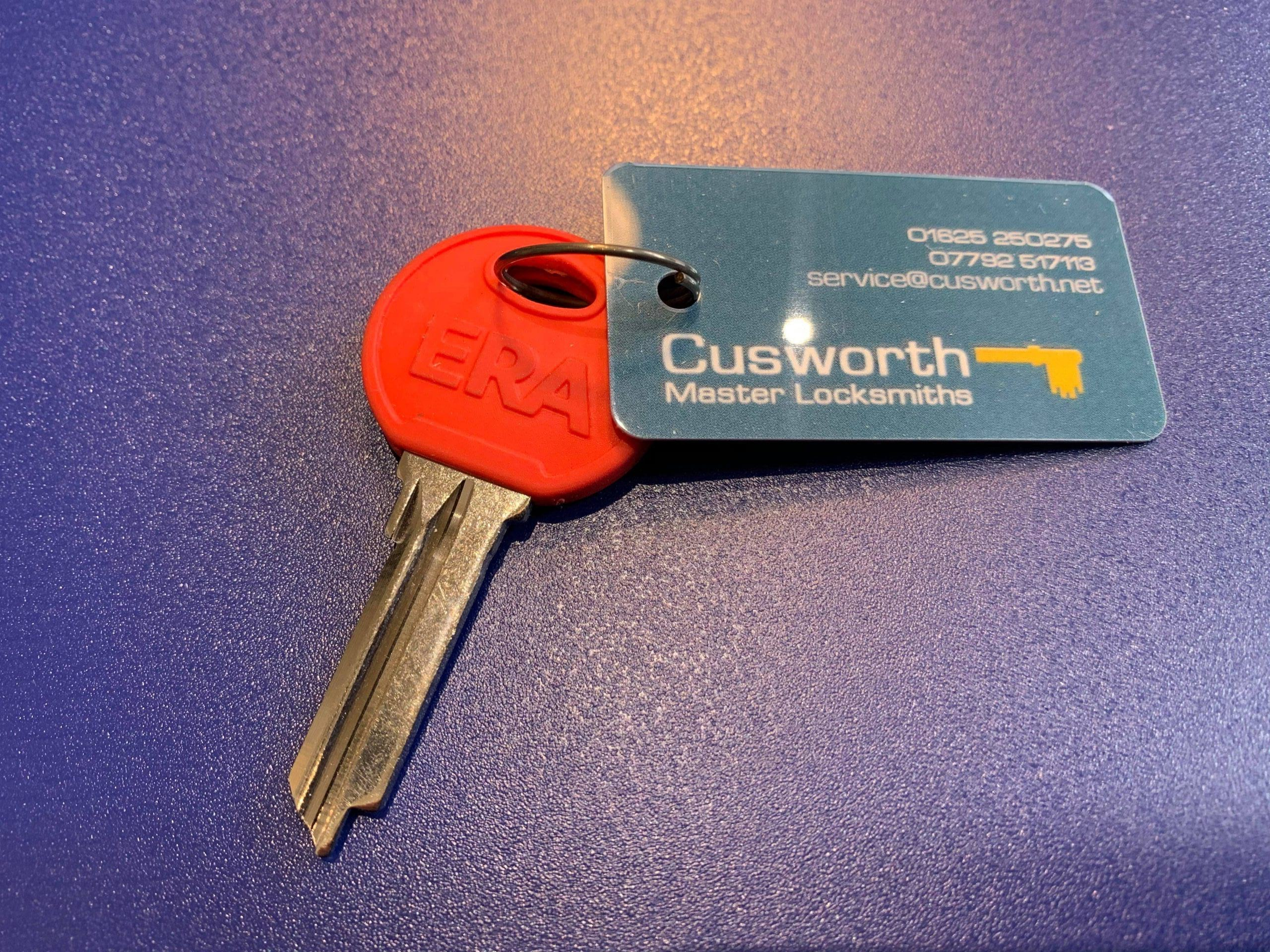 Era Fortress key cut by Cusworth Master Locksmiths.