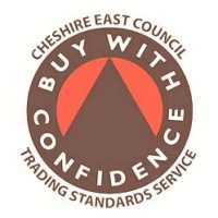 Knutsford locksmith Cusworth Master Locksmiths are part of Cheshire East's Buy with Confidence scheme.